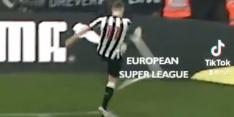 Newcastle deelt in TikTok-filmpje mening over de Super League