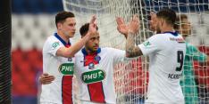 Icardi loodst PSG met hattrick naar halve finale Franse beker