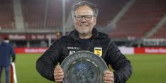 Succescoach De Jong gaat contract verlengen bij SC Cambuur