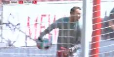 Video: valse start Bayern tijdens kampioenswedstrijd