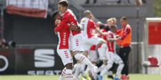 De Leeuw brengt FC Emmen met hattrick dichterbij lijfsbehoud