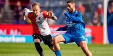"""Advocaat ontevreden over Feyenoord: """"Het was slecht"""""""