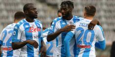 Napoli dringt top vier binnen, Juventus zakt naar plek vijf