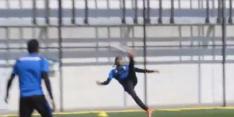 Video: Chong scoort op training met weergaloze omhaal
