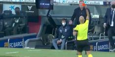 Video: Koeman krijgt rood in belangrijk duel met Granada
