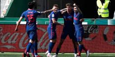 Atlético als koploper richting topper tegen Koeman na uitzege