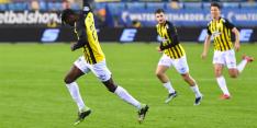 Vitesse ontsnapt aan duur puntverlies tegen PEC