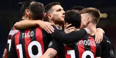 Milan legt druk bij concurrenten en mag nog hopen op CL-voetbal
