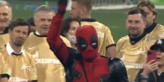 Video: Zenit-sterspeler Dzyuba als Deadpool bij titeluitreiking