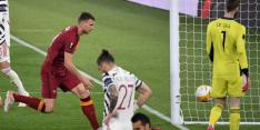 United en Van de Beek in finale ondanks drie tegengoals bij Roma