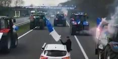 Video: fans De Graafschap veroorzaken file in aanloop naar promotieduel