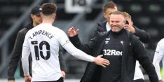 Rooney sluit eerste seizoen als trainer goed af na zinderend slot