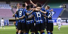 Kampioen Inter verslapt niet en verplettert Sampdoria