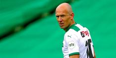 Voetballerij reageert op 'definitief' voetbalpensioen Robben