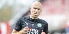 Robben ondanks hekel aan kunstgras in de basis bij Groningen