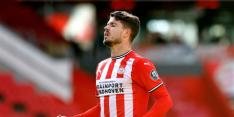Van Ginkel captain PSV, Feyenoord zonder Bijlow