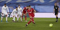 Terugkijken: Real rekent op penalty vóór, maar krijgt hem tegen