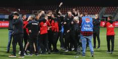 Go Ahead promoveert op krankzinnige avond naar Eredivisie