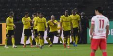 Dortmund houdt Leipzig van eerste hoofdprijs en pakt DFB-Pokal