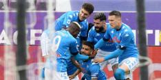 Napoli duwt Juventus met zege weer naar Europa League-plek