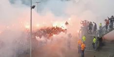 Bizarre beelden: Willem II-fans en spelers vieren groot feest
