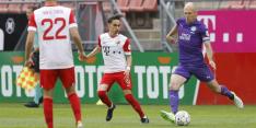 Robben afwezig bij eerste training en blijft twijfelen