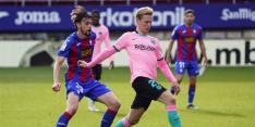 Koeman sluit debuutjaar Barça af met benauwde zege