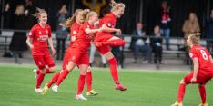 Champagne in Enschede: Twente Vrouwen kampioen Eredivisie