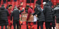 """'Liverpool-legend' Wijnaldum: """"Ik vecht tegen de tranen"""""""