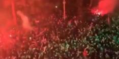 Heerlijke beelden: duizenden fans vieren promotie NEC