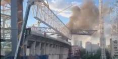 Brand in Santiago Bernabéu: rookwolken pakken zich samen
