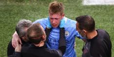"""Belgen boos vanwege blessure De Bruyne: """"Moest rood zijn"""""""