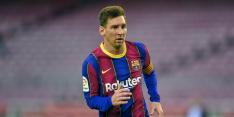 Vakantie vierende Messi keert terug in Barcelona