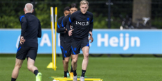 """Van de Beek reageert op missen EK: """"Een grote teleurstelling"""""""