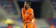 Jong Oranje komt vroege tik niet te boven en kan EK-titel vergeten