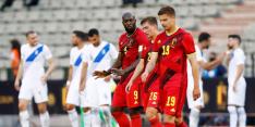 Ook België stelt teleur in eerste oefenwedstrijd