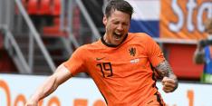 """Weghorst in extase na eerste goal Oranje: """"Had al zo'n gevoel"""""""