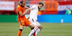 """Blind is blij met zijn fysiek, maar niet met Oranje-spel: """"Slijpen"""""""