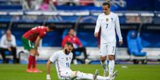 Slecht nieuws voor Frankrijk: Benzema valt uit met blessure