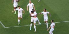 Zwitserland vergeet te winnen in interessant duel met Wales
