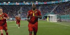 Video: Lukaku scoort voor België en heeft boodschap voor Eriksen