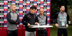 """Deense spelers blikken terug: """"Fantastisch om hem te spreken"""""""