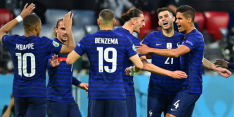 Frankrijk doorstaat Duitse storm en slaat eerste slag in groep F