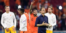 Opstelling Oranje tegen Noord-Macedonië lekt uit tijdens training