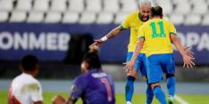 Brazilië maakt favorietenrol waar in Copa door briljante Neymar