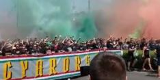 Heerlijke beelden: Hongaarse fans klaar voor duel met Frankrijk