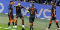 Oranje pas na omschakeling 4-3-3 tot wervelende zege