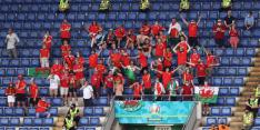Wales tegen fans: denk goed na over reis naar Amsterdam