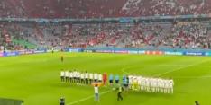 Video: man met regenboogvlag rent veld op bij Hongaars volkslied
