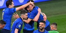 Kwartfinalist Italië knokt zich na verlenging langs taai Oostenrijk